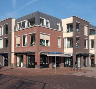 "Winkel- en appartementencomplex ""De Emmahof"" in Woudenberg"