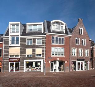 Winkels met appartementen in Nijkerk