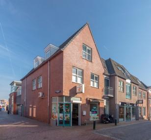 """Winkel- en appartementencomplex """"De Smidshof"""" in Nijkerk"""
